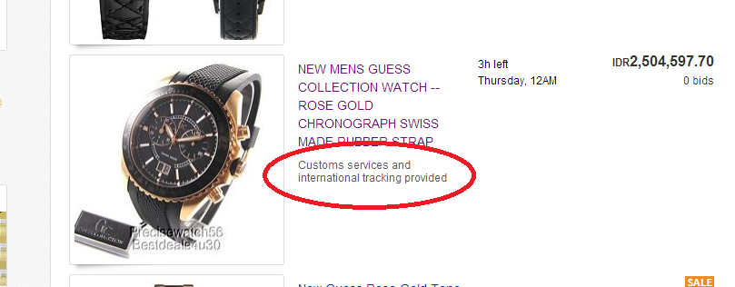 global shipping program ebay